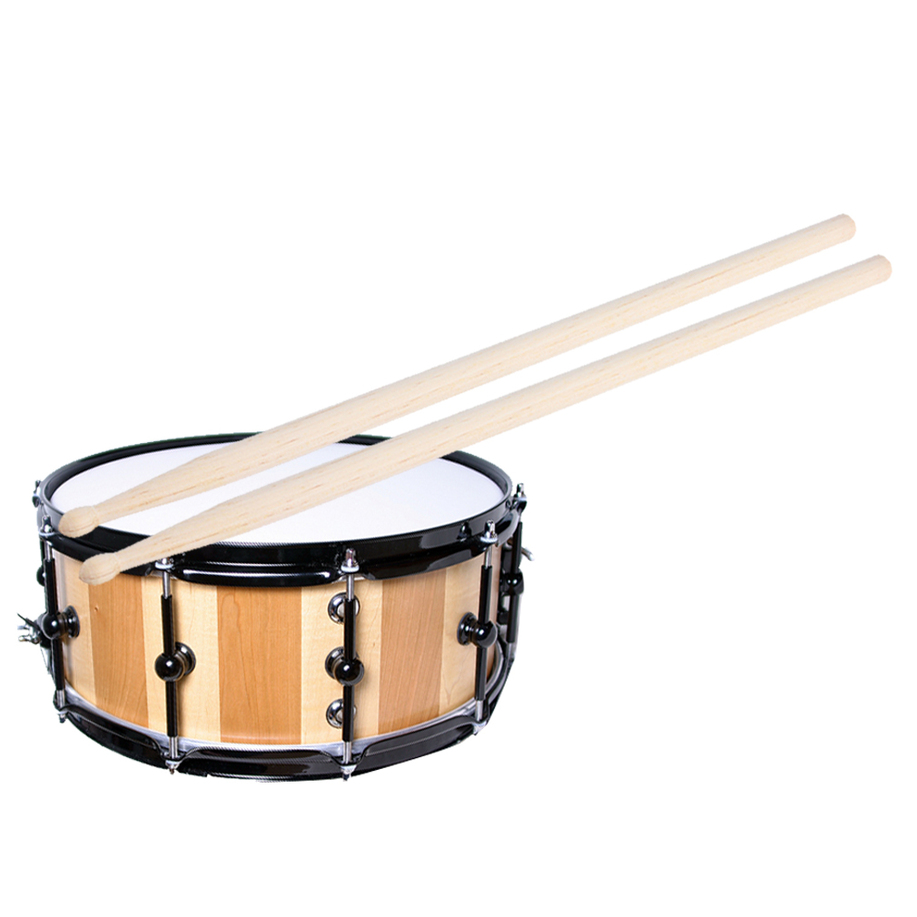 1 pair 5a maple drum sticks wood wooden tip band musical instrument drumsticks ebay. Black Bedroom Furniture Sets. Home Design Ideas