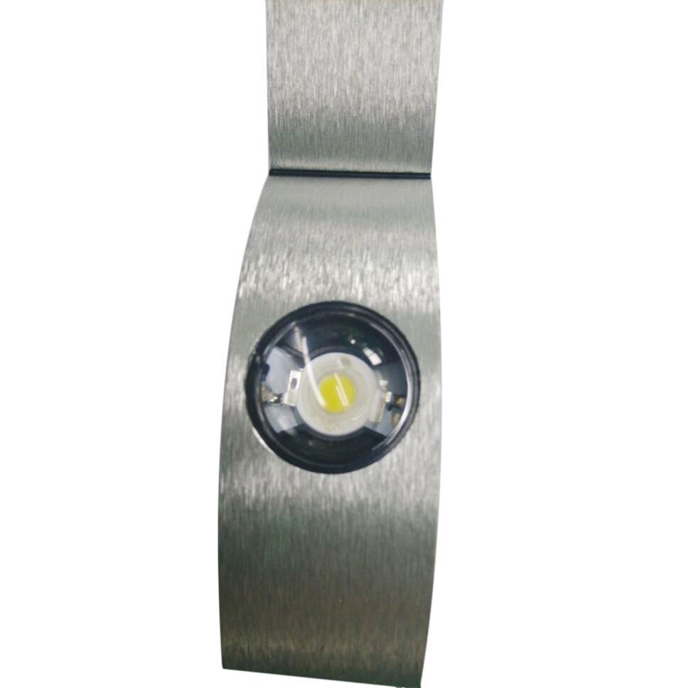 LED 4W Arc-shaped Wall Light Warm Cool White Lamp Bulb Home AC85-265V eBay