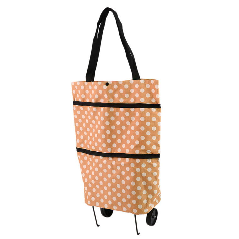 portable folding wheel handle carry shopping bag rolling grocery cart tote oe ebay. Black Bedroom Furniture Sets. Home Design Ideas