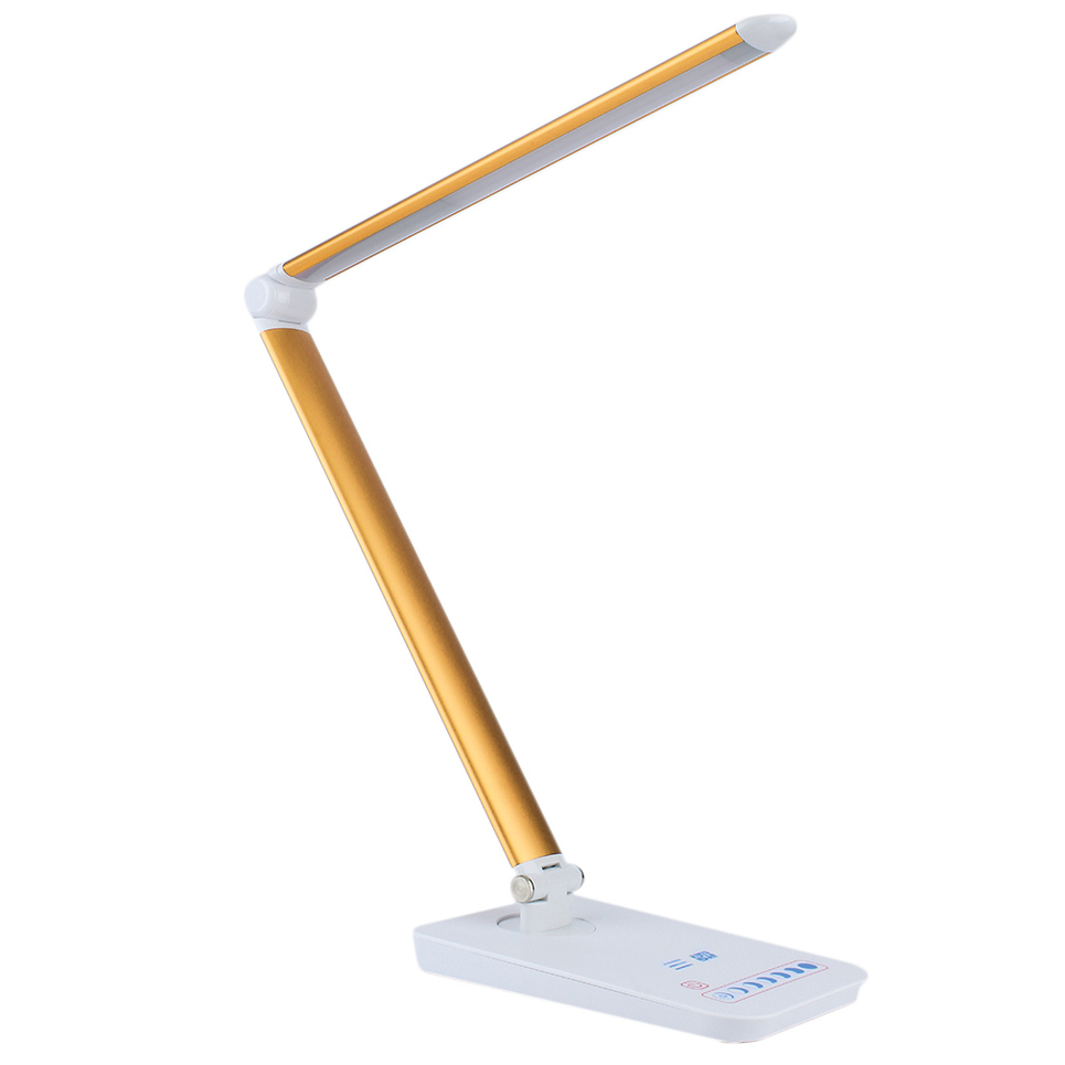 Foldable Reading Light Touch Control Rotatable Reading Led