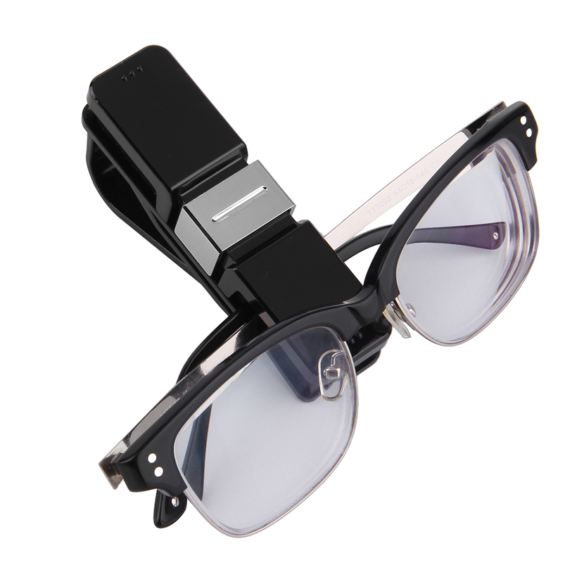 new car auto glasses sunglasses card visor pen business card clip holder oe ebay. Black Bedroom Furniture Sets. Home Design Ideas