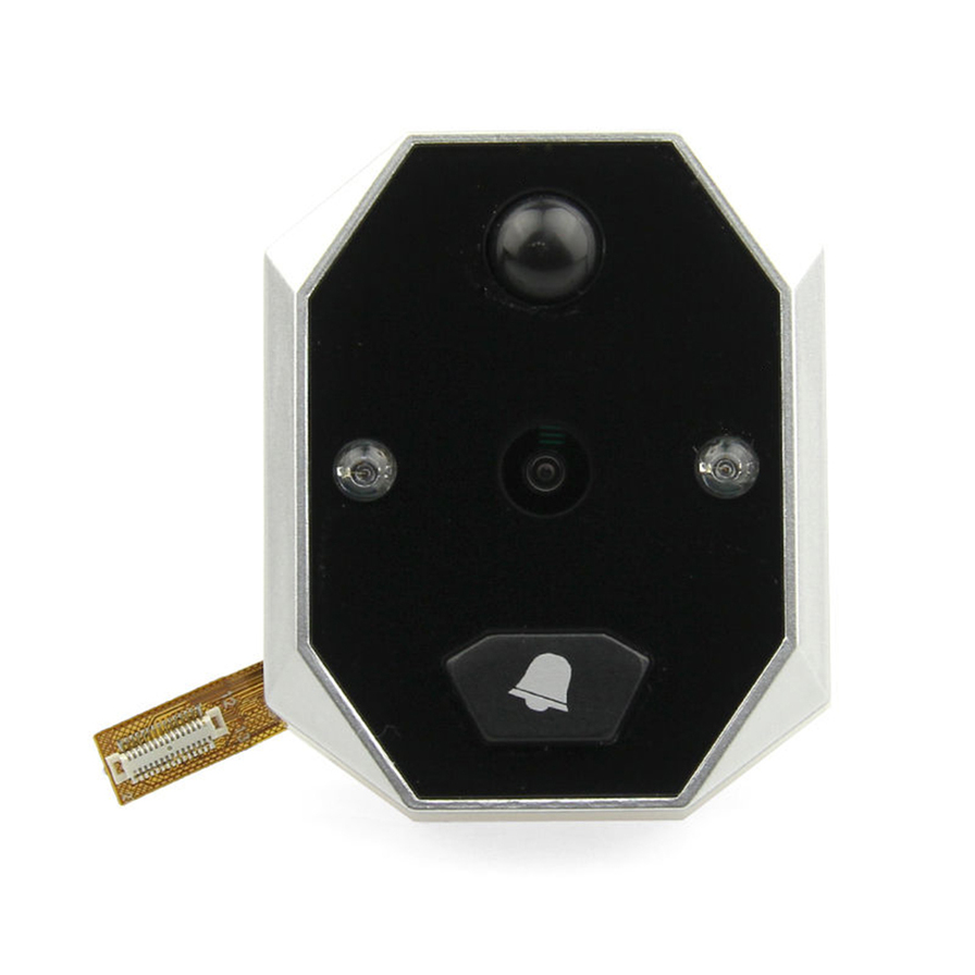 3 5 39 39 lcd digital peephole viewer 120 degree door eye for Door viewer camera