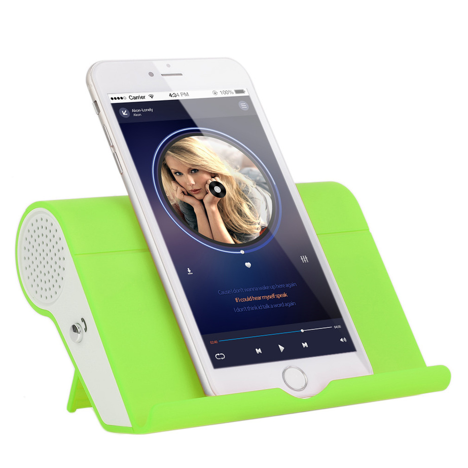 mini unique speaker bluetooth digital wireless portable speaker with stand g ebay. Black Bedroom Furniture Sets. Home Design Ideas