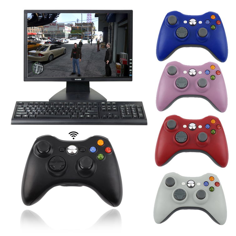 how to connect xbox 360 controller to pc with receiver