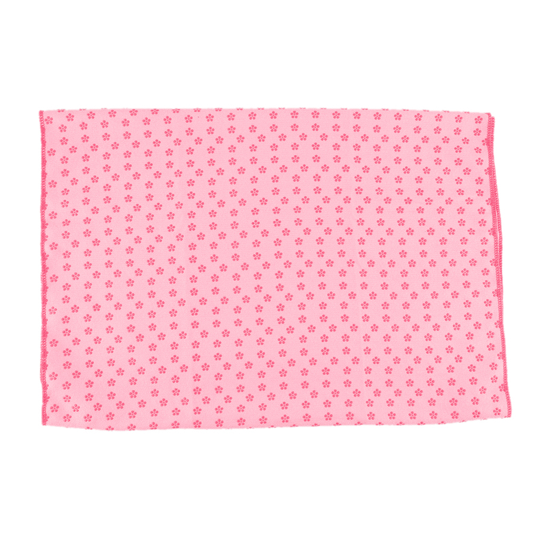 Yoga Mat Towel Sports Direct: Sport Fitness Exercise Plum Yoga Massage Mat Cover Towel