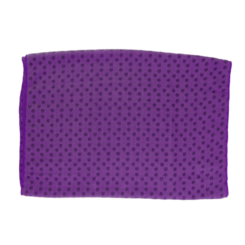 Sport Fitness Exercise Plum Yoga Massage Mat Cover Towel