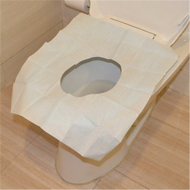 new useful 1 pack 10pcs disposable covers paper toilet