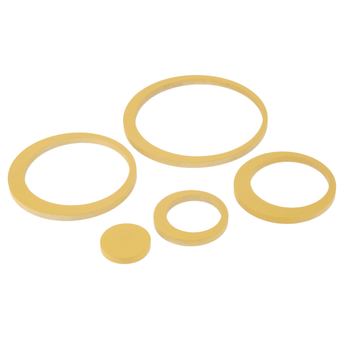 Hot Circles Stickers 5 Rings 3D Wall Art Decals Home Decor Removable ...