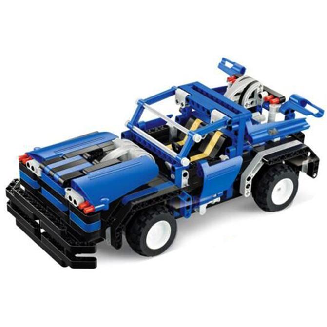 building blocks electrical remote control cars kids children educational toy tj ebay. Black Bedroom Furniture Sets. Home Design Ideas
