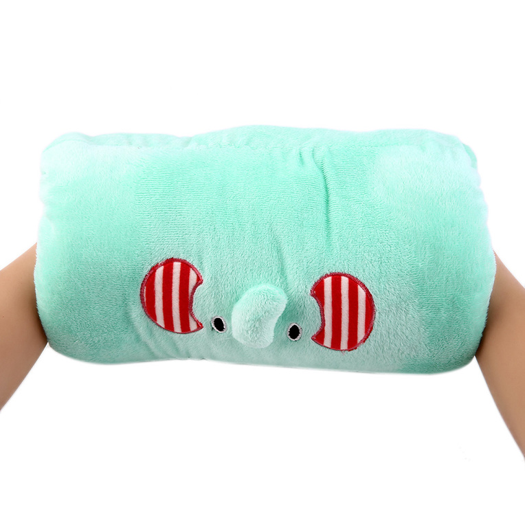 1 PC Sweet Animals Cartoon Soft Hand Warmer & Cushion Pillow 2in1 Plush Toy LE eBay