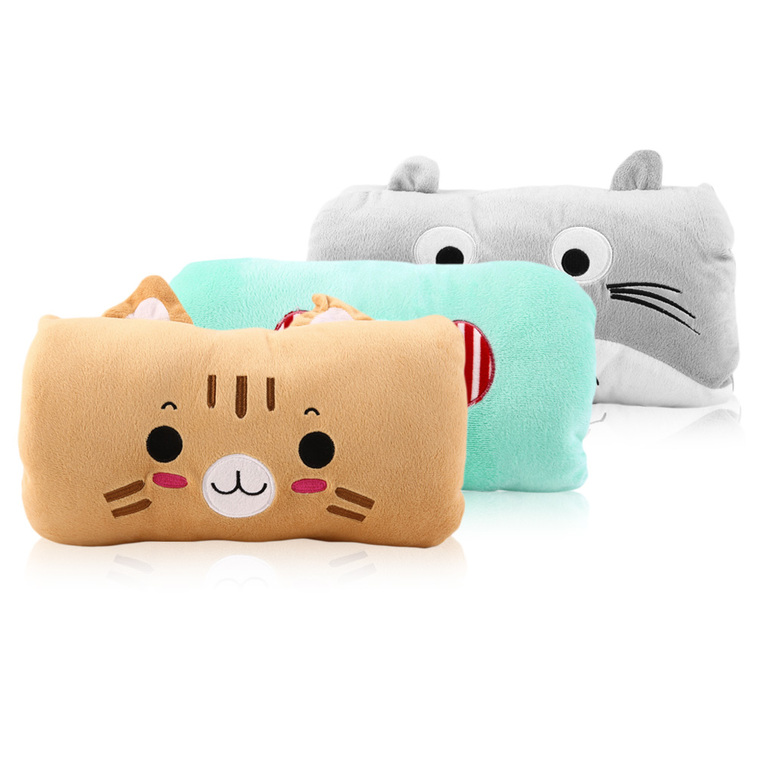 Cute Pillow Warmer : 1 PC Sweet Animals Cartoon Soft Hand Warmer & Cushion Pillow 2in1 Plush Toy LE eBay