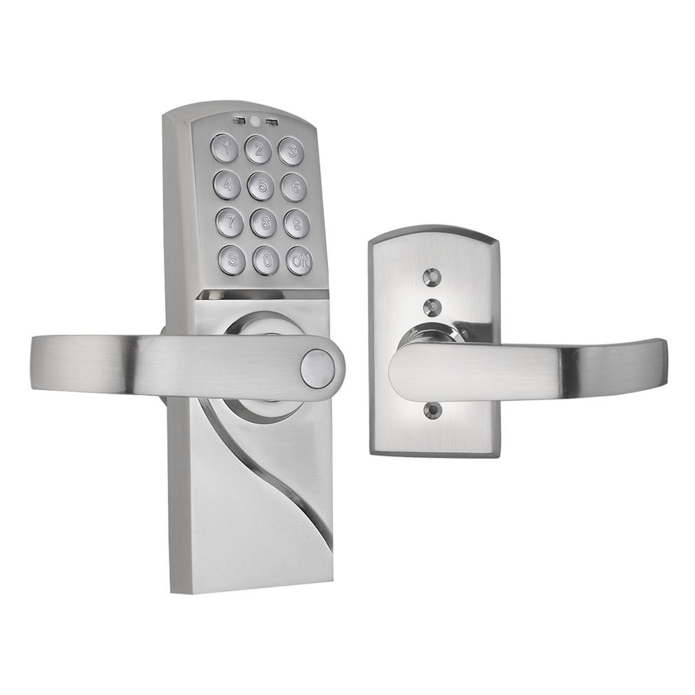 digital electronic code keyless keypad security door lock right handle us vp. Black Bedroom Furniture Sets. Home Design Ideas