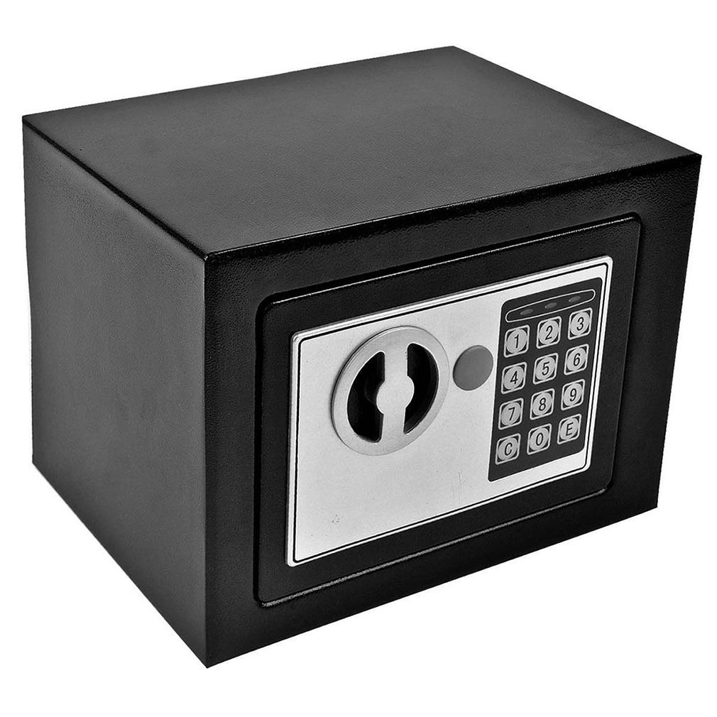 Digital Electronic Safe Small Black Box Combo Keypad Lock