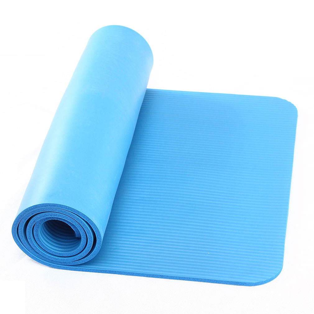 NBR Foam YOGA MAT EXERCISE FITNESS AEROBIC GYM PILATES