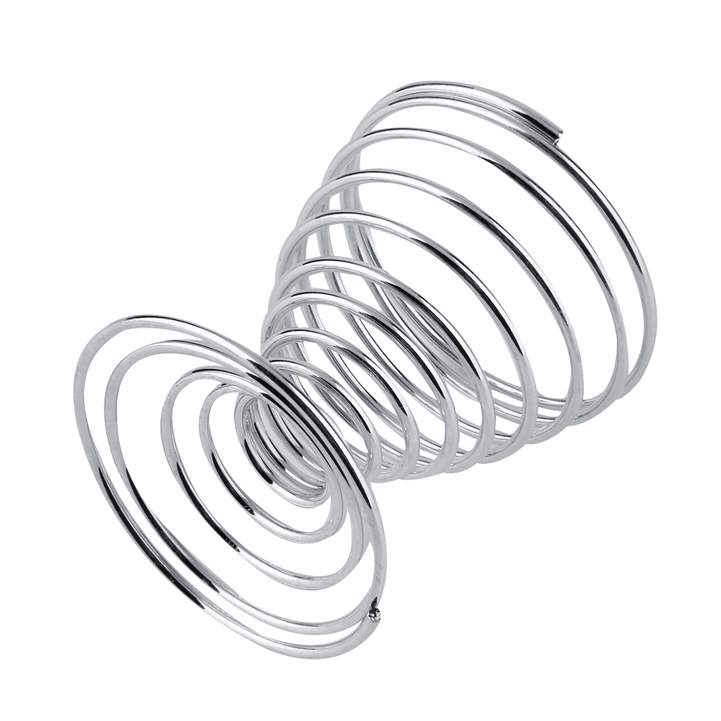 1pc Stainless Steel Spring Wire Tray Boiled Egg Cups Holder Stand ...